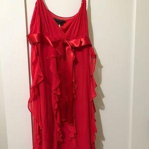 BCBG MacAzria silk dress